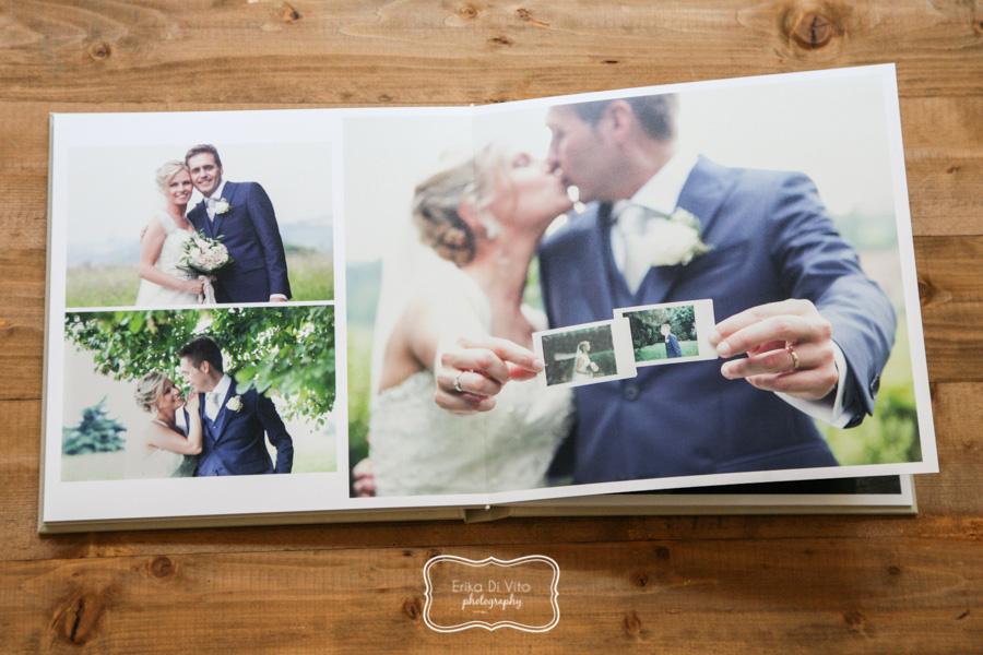 Album matrimonio moderno e raffinato erika di vito for Album foto matrimonio